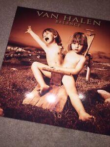 "Van Halen ""Balance"" Unofficial LP Limited ED UK Import Colored orange Vinyl"