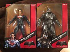 """DC Comics Multiverse Batman v Superman 12"""" Armored Batman & Superman Figures"""