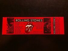 The Rolling Stones Ticket 10/17/1981Candlestick Park SanFrancisco Make An Offer!