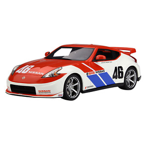 GT Spirit Models – 1/18 Scale – 2010 Nissan 370Z Coupe #46 Bre 40Th Anniversary