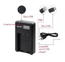 USB Charger for Canon NB-6L NB-6LH PowerShot S90 S95 IXUS 105 IS