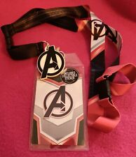 Avengers Endgame Quantum Armor Costume Lanyard with Collectible Sticker