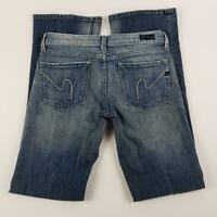 Citizens of Humanity Jeans Womens Size 27 Kelly #001 Stretch Low Waist Boot Cut