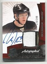 10-11 Nick Johnson The Cup Auto Rookie Card RC #135 Jersey Patch 170/249