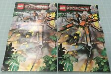 LEGO Exo-Force Battle Arachnoid Stalker 8112, rare retired, complete, manga