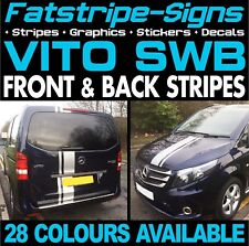 MERCEDES VITO SWB COMPACT STRIPES GRAPHICS STICKERS DECALS CAMPER DAY RACE VAN