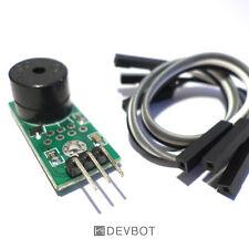 Module Buzzer Actif Arduino + câbles dupont. Audio, DIY, Raspberry Pi
