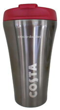 Costa Coffee Stainless Steel Travel Mug Tumbler Cup Thermal Double Wall 450ml