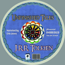 UNFINISHED TALES- TOLKIEN, Audiobook MP3 CD, Lord of the Rings Hobbit Unabridged