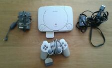 SONY PS one - Playstation SCPH-102 Console - Grey Kit with bag and Gran Turismo