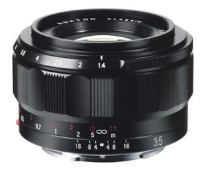 NEW Voigtlander Nokton Classic 35mm f/1.4 Lens for Sony E Mount BA347A USA