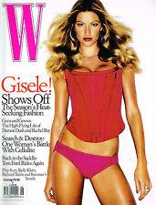 W Magazine 06/2005 GISELE BUNDCHEN Daria Werbowy RICHARD TUTTLE Eugenia Kuzmina
