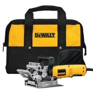 DeWALT DW682K Heavy-Duty Plate Joiner Kit 120V 6.5 Amps