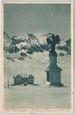 CARTOLINA d'Epoca - BRESCIA :  Passo del Tonale  1933