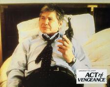 8 Photos Cinéma 21.5x27cm (1986) ACT OF VENGEANCE Charles Bronson, Reeves NEUVE