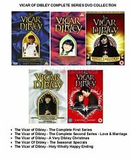 VICAR OF DIBLEY COMPLETE SERIES DVD COLLECTION BRAND NEW AND SEALED UK R2 DVD