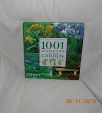 1001 Hints and Tips for Your Garden by Reader's Digest Hardcover Book Xmas Gift