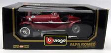 Modellini statici auto da corsa sportive e turistiche giallo per Alfa Romeo