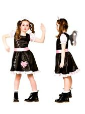 Child WIND UP DOLL Halloween Cursed Living Baby Girl Fancy Dress Costume Age5-13