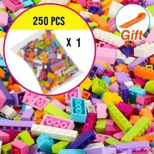 250 Pcs Building Blocks Creative Bricks Assembly Model Figures  Educational toys