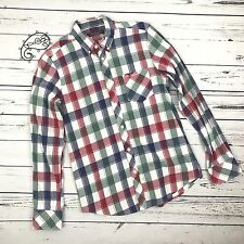 Ben Sherman Men's Button Down Checkered Shirt Size Small
