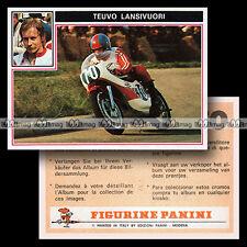 #pnsm75.009 ★ Pilote TEUVO LANSIVUORI ★ Panini Super Moto 75