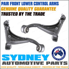 PAIR Front Lower Control Arms Ford Falcon AU 2 AU 3 BA BF RTV with Ball Joints