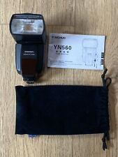 Yongnuo Speedlite YN560 Shoe Mount Manual Flash flashgun