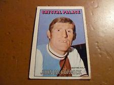 A & A.C. Chicle Fútbol Tarjeta 1972/73 Rojo Naranja atrás John McCormick Cristal PA