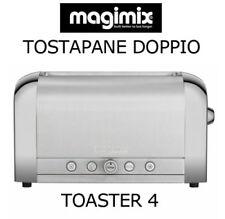 MAGIMIX TOSTAPANE DOPPIO TOASTER 4 CON 8 LIVELLI TOSTATURA 1850 W