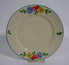 Alt Schönwald Bavaria Kuchenteller handbemalt Bauernblume Art Deco Porzellan