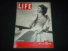 1939 MAY 8 LIFE MAGAZINE - STYLISH COTTON - BEAUTIFUL FRONT COVER - GG 196