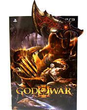 13.5 x 19cm Original PS3 God of War III 3 NOTE BOOK & PAPER CLIP 45pg (No Game)