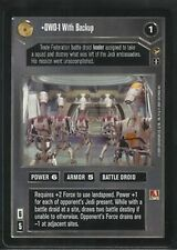 Star Wars CCG Theed Palace Rare OWO-1 With Backup NM/M