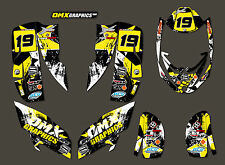 CAN-AM DS 650 ATV Quad decals graphics stickers kit STAR