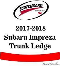 3M Scotchgard Paint Protection Film Clear Pre-Cut Fits 2017 2018 Subaru Impreza