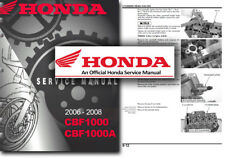 Honda CBF1000 Service Workshop Repair Shop Manual CBF 1000 CBF1000A
