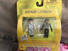 MiniMates-Star Trek - Gladiator Kirk & Kor- Series 3- Unopened
