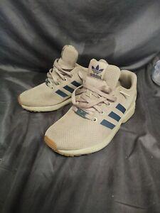 Adidas -ZX FLUX K - BY2040 - HEMP/NINDIG/GUM3- ORIGINALS - USA 5.5