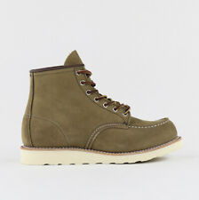 """RED WING 6"""" MOC TOE BOOT 8881 OLIVE MOHAVE UK9 BNWB"""