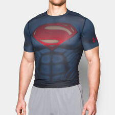 Graphic Tee Superman Solid T-Shirts for Men