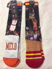 Stance Mens NBA Socks Lot Of 2 Size Large