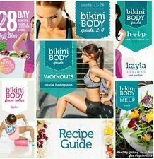 KAYLA ITSINES 16 GUIDES Bikini Body Help 28 Day Healthy Recipe Motivation Habits