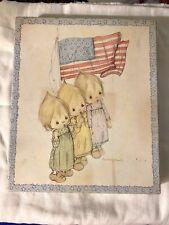 1970's Hallmark Betsey Clark Stationery Sheets Envelopes Box Set Patriotic