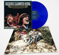 Creedence Clearwater Revival John Fogerty Exclusive Blue 2x Vinyl LP w/ Poster