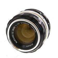 Nikon Nikkor 50mm F/1.4 S Non AI Chrome Manual Focus Lens {52} UG