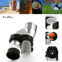 Single Barrel High Power High Definition Low Light Night Vision Telescope US