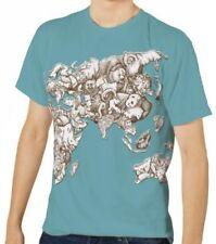 Markenlose Tier in Plusgröße Herren-T-Shirts