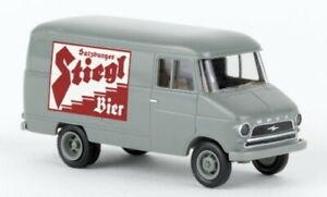 Opel Boîte A, Stiegl Bière, 1960, H0 Modèle Auto 1:87, Brekina 35629
