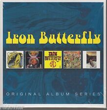 Iron Butterfly / In-A-Gadda-Da-Vida, Heavy, Ball, Live u.a. (5 CDs,NEU!)